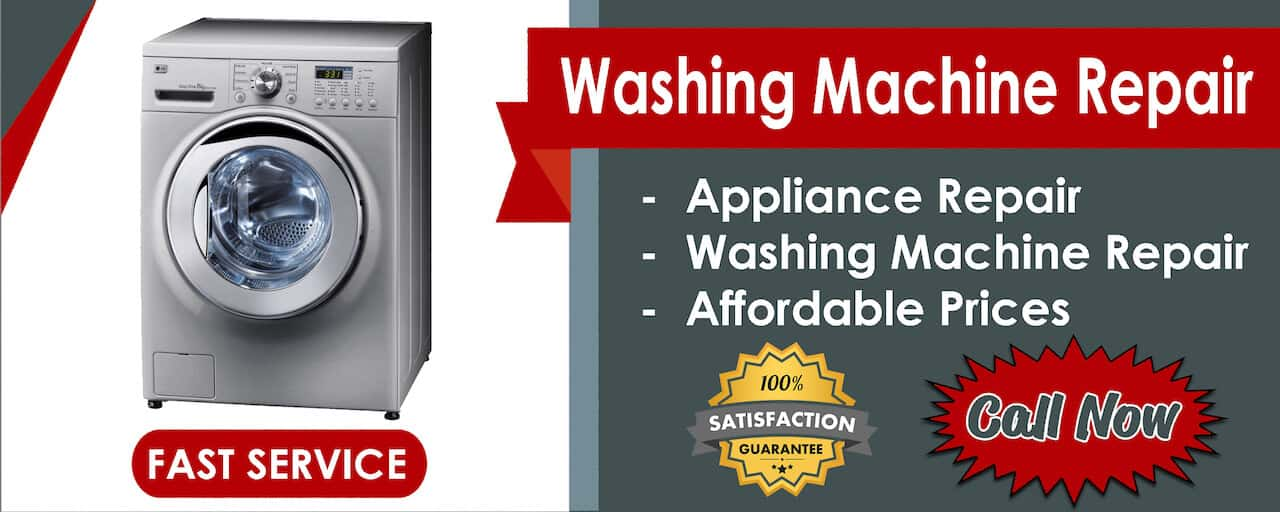 washing machine repair banner
